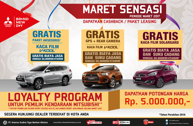 Promo Maret Mitsubishi Bintaro