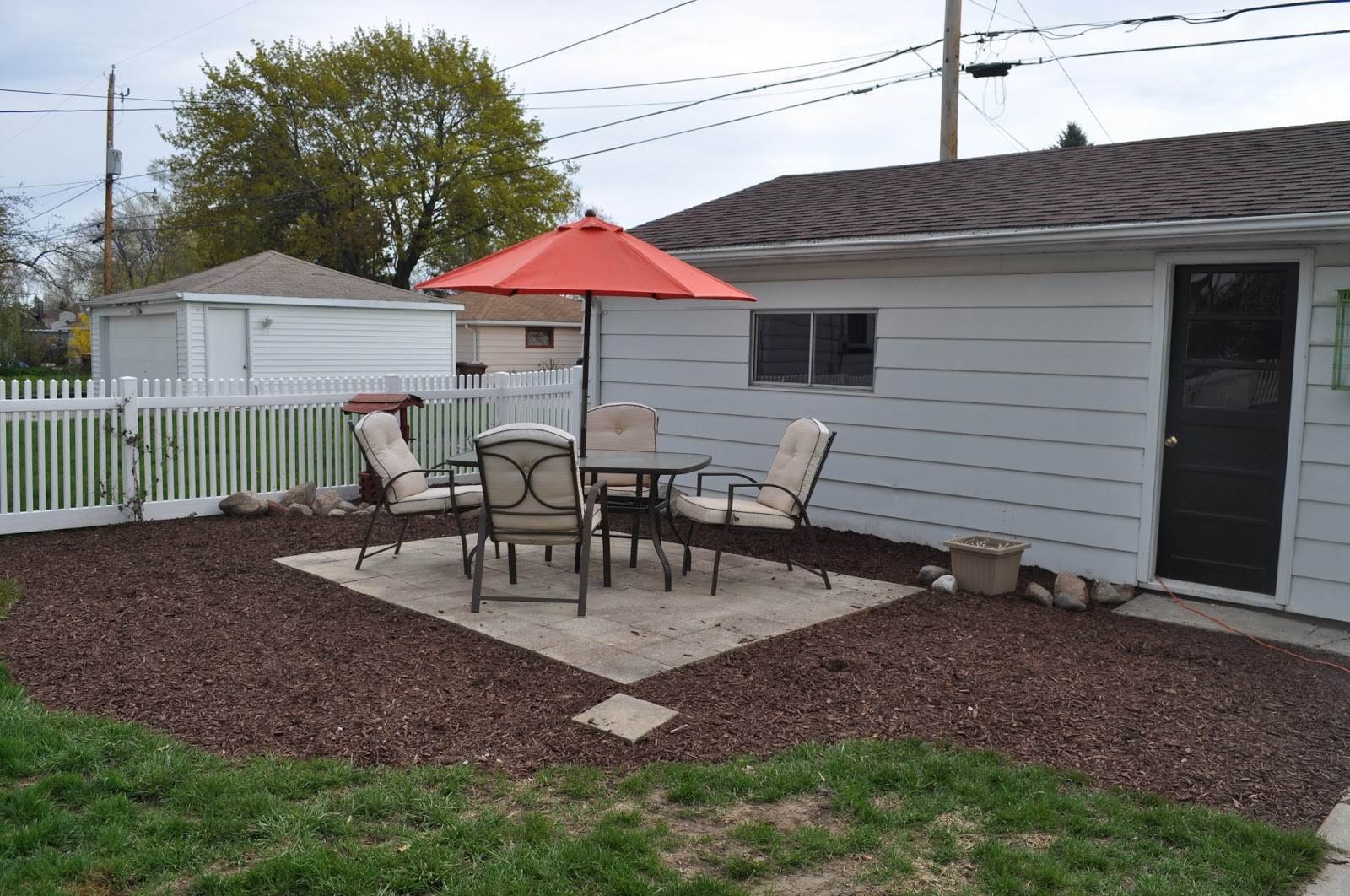 Carri Us Home: DIY Paver Patio
