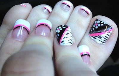 Decoración de uñas adolescentes