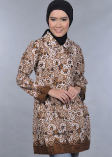 Model Baju Batik Couple Pria Wanita Terbaru Terbaru