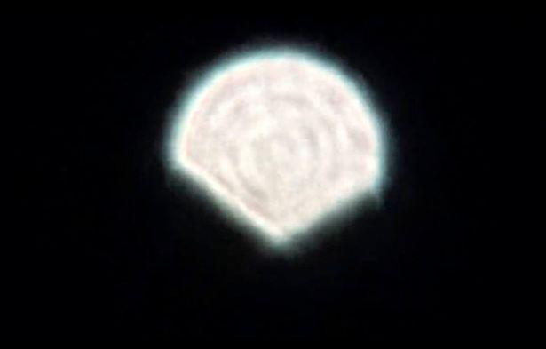 Shell-Shaped UFO Sighting Over Siberia