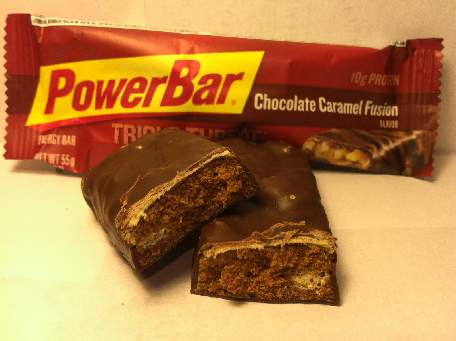 Crazy Food Dude Review Powerbar Triple Threat Energy