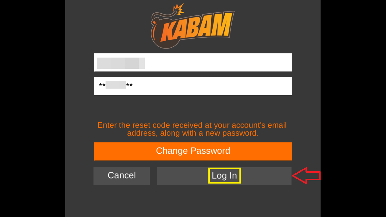 how to delete kabam account