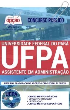 Apostila UFPA 2018 Assistente em Administração