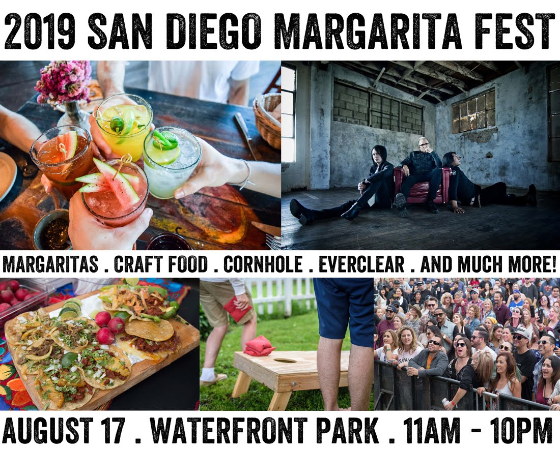 Save on passes & Enter to win VIP tickets to the San Diego Margarita Fest - August 17!