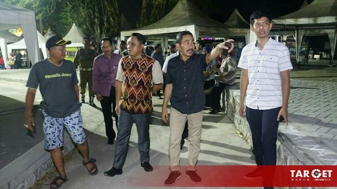 Hari Pertama Relokasi, Bupati Haryanto Yakinkan Hal Ini Pada PKL