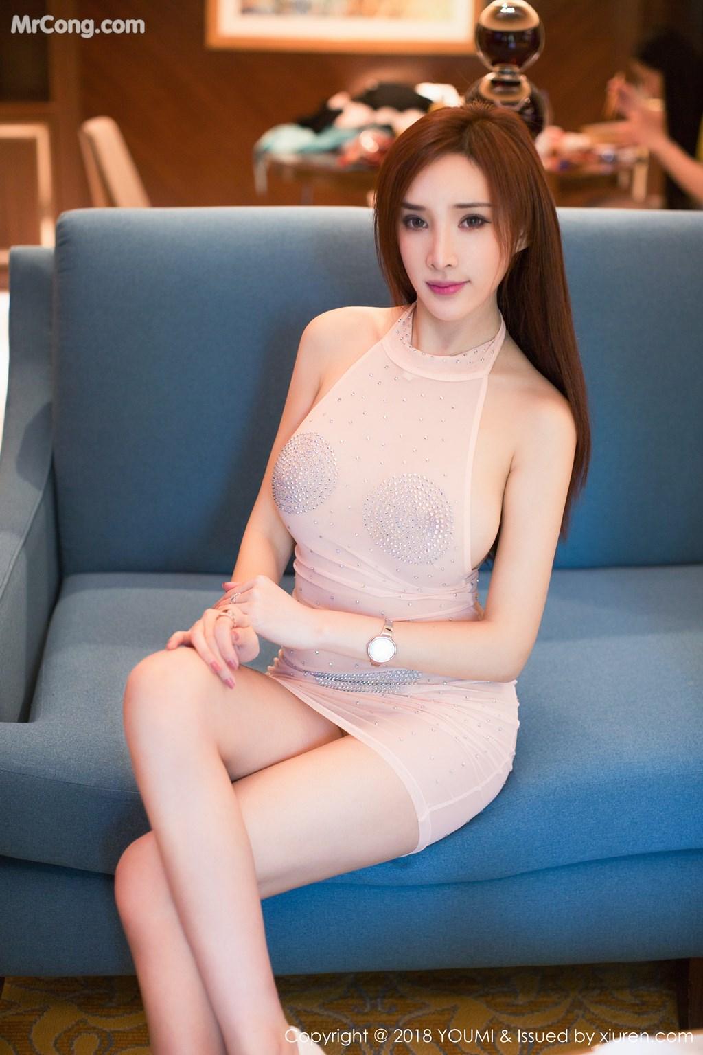 Image YouMi-Vol.112-Tu-Fei-Yuan-Ai-Cuo-Qiong-MrCong.com-001 in post YouMi Vol.112: Người mẫu 土肥圆矮挫穷 (51 ảnh)