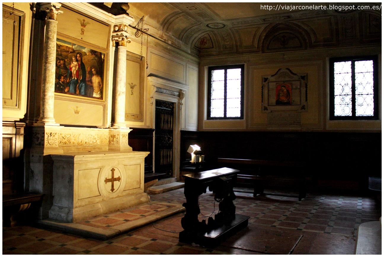 erección de la parroquia de santa giustina en colle del