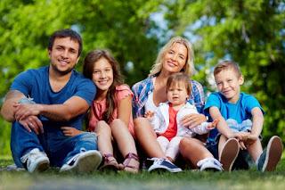 padres hijos pasto vacaciones