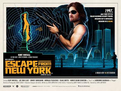 John Carpenter Quad Movie Poster Series by Matt Ferguson x Vice Press x Grey Matter Art