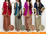 Stelan Songket Kombi Sifon SOLD OUT
