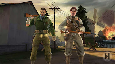 Free Download Brothers in Arms 3 Apk + MOD + data v1.4.3d Android Gratis Terbaru Juli 2016