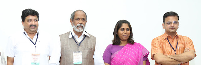 Panelists: L to R – PTR Palanivel Thiagarajan MLA, R Nataraj MLA, Dr Mariazeena Johnson and K T Raghavan