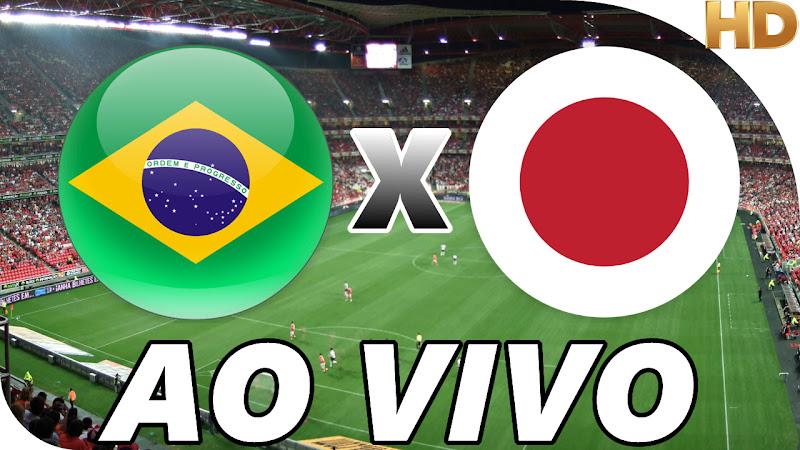 Assistir Brasil x Japão Ao Vivo Grátis