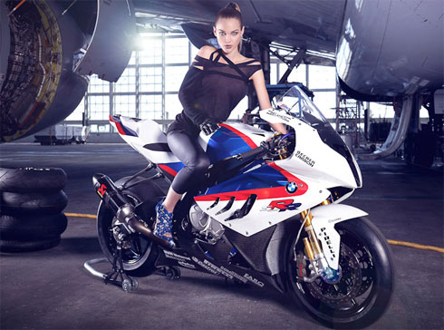 Bmw S1000rr Girl Wallpaper Auto Car Pass Hot Girl Bmw S1000rr 20
