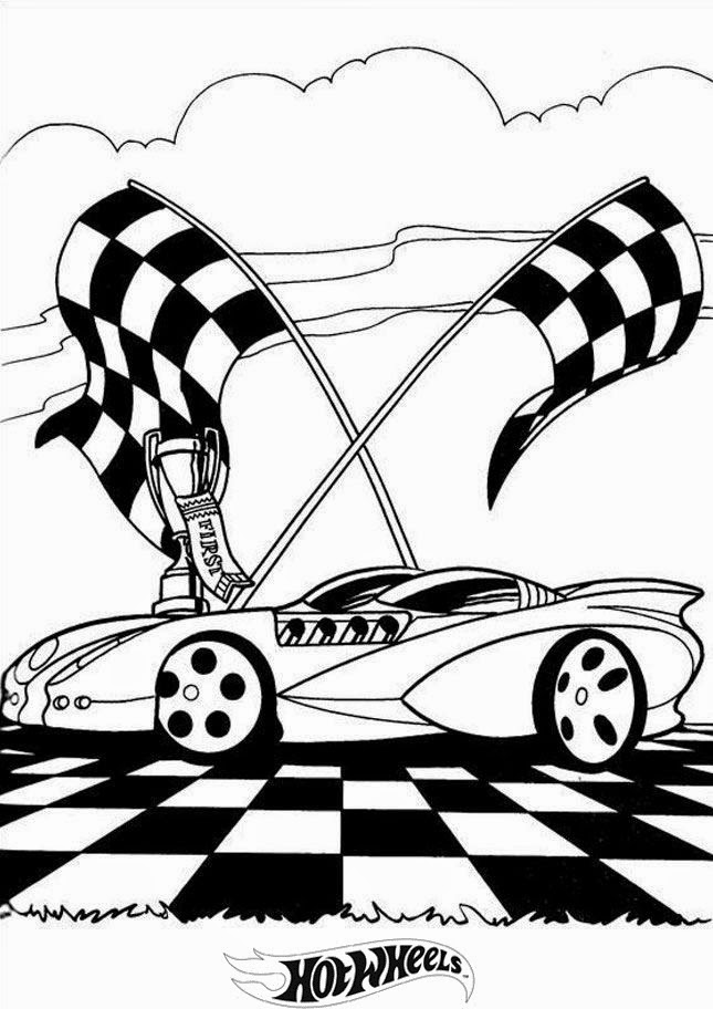 Hot Wheels Coloring Pages 26
