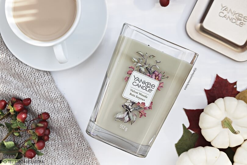 yankee candle velvet woods 2018 duża świeca zapachowa