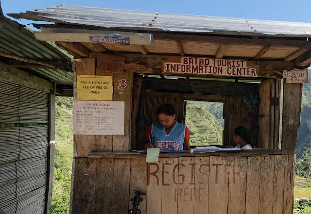 8th Wonder of the World Batad Rice Terraces Ifugao Cordillera Administrative Region Philippines Tourist Registration Center