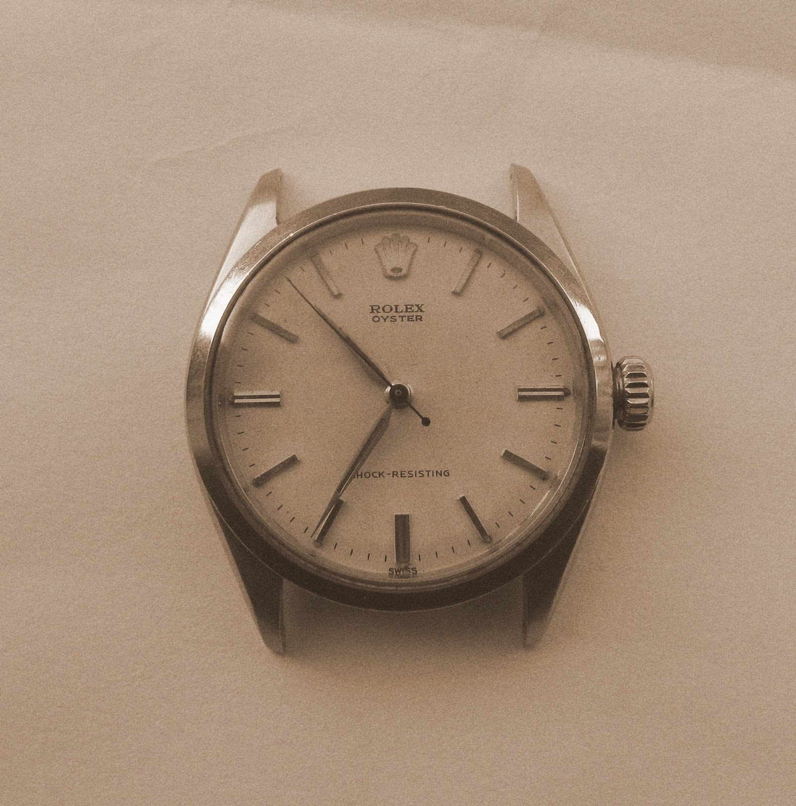 Andy B Vintage Watches 1957 Rolex Oyster Oyster Shock
