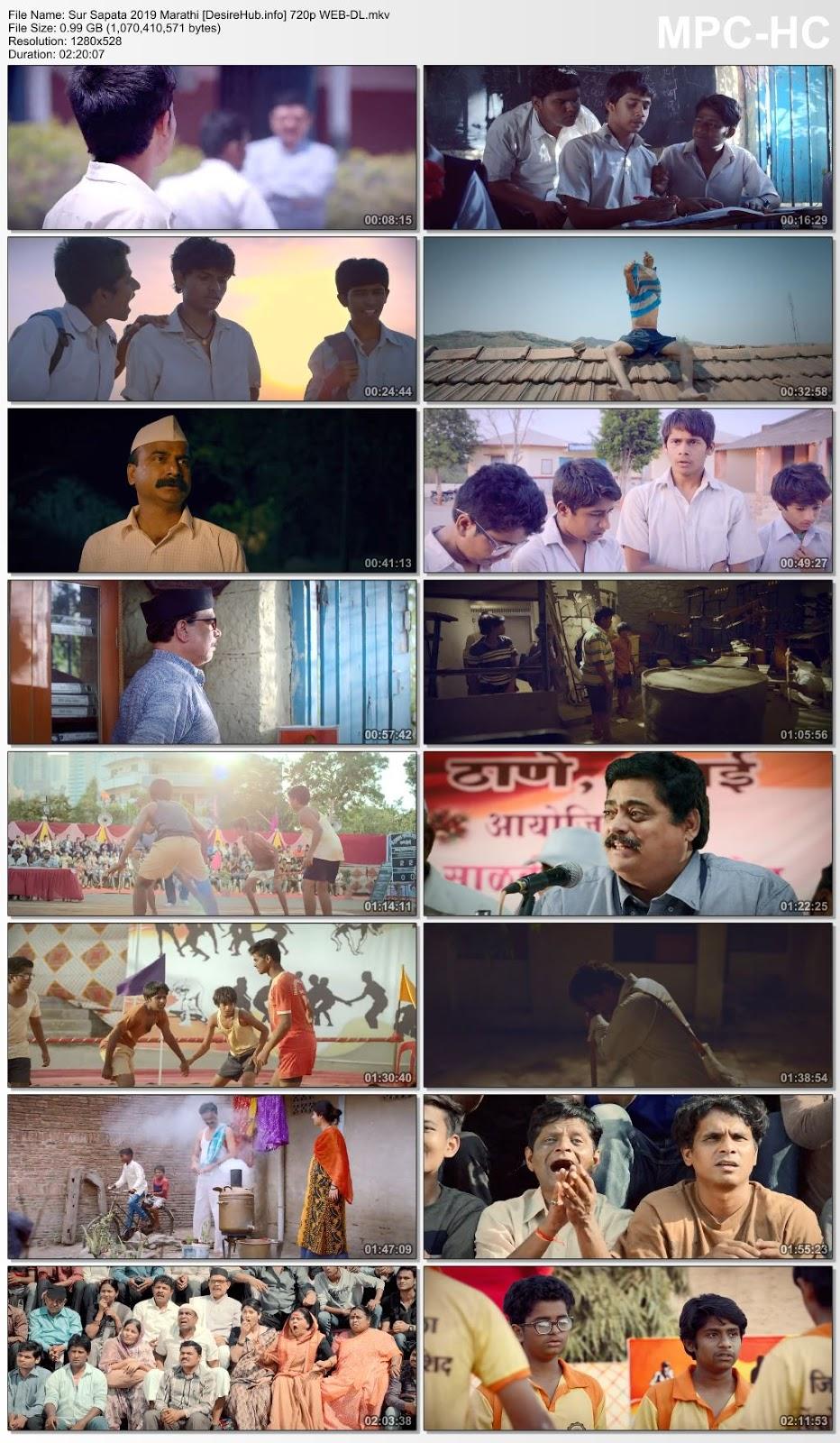Sur Sapata 2019 Marathi 480p WEB-DL 400MB Desirehub