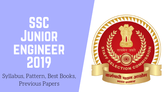 SSC JE 2019 Syllabus, Pattern, Best Books, Previous Papers Pdf Free Download