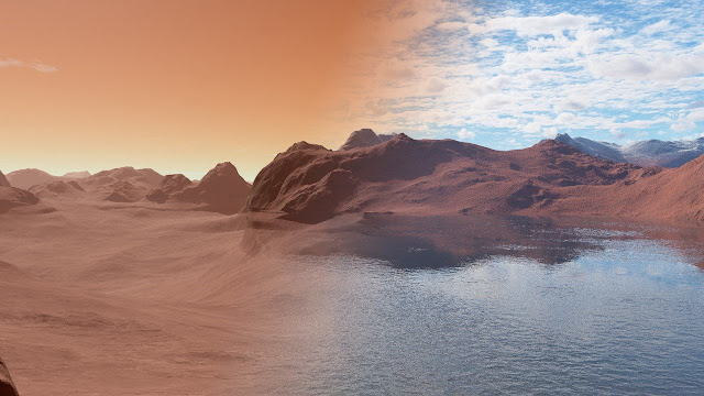 Water on Mars absorbed like a sponge, new research suggests