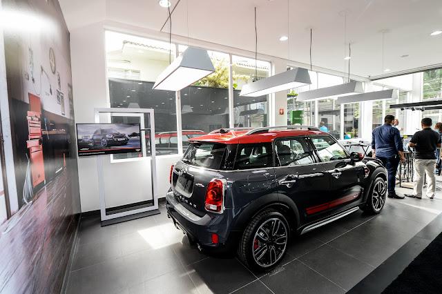 MINI abre nova concessionária nos Jardins - SP