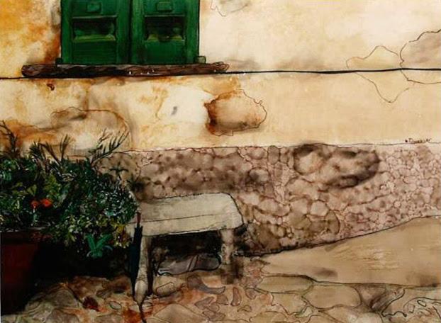 María Teresa Berrios artista boliviana ventana