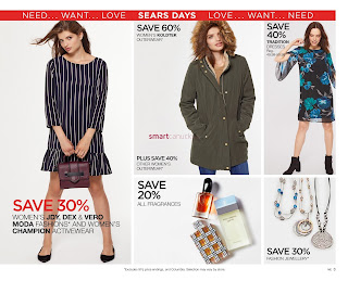 Sears Flyer September 14 - October 1, 2017