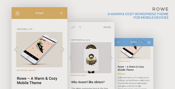 ROWE Mobile WordPress Themes