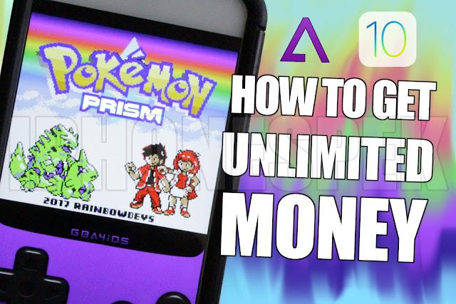 Pokemon Prism: How to Get Unlimited Money Pokemon Prism