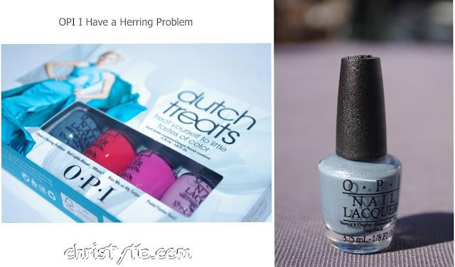 OPI Holland - I have a Herring Problem