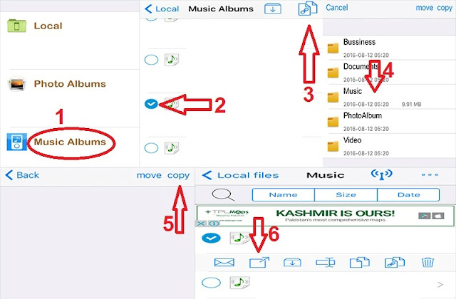 Send Audio Songs And Music Files On Whatsapp From iPhone4s/5/5s/6/6s/6SE