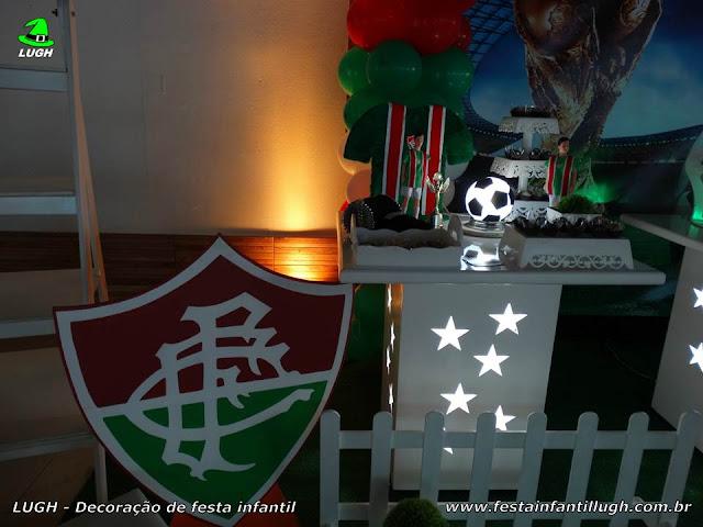 Decoração tema Fluminense