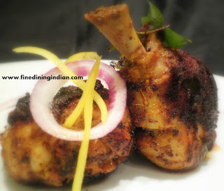 KERALA CHICKEN FRY FINE DINING STYLE IMAGE