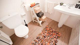Alformbras de baño recicladas