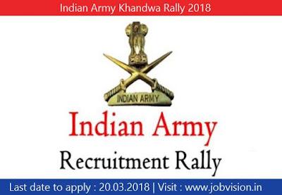 Indian Army Khandwa Rally 2018