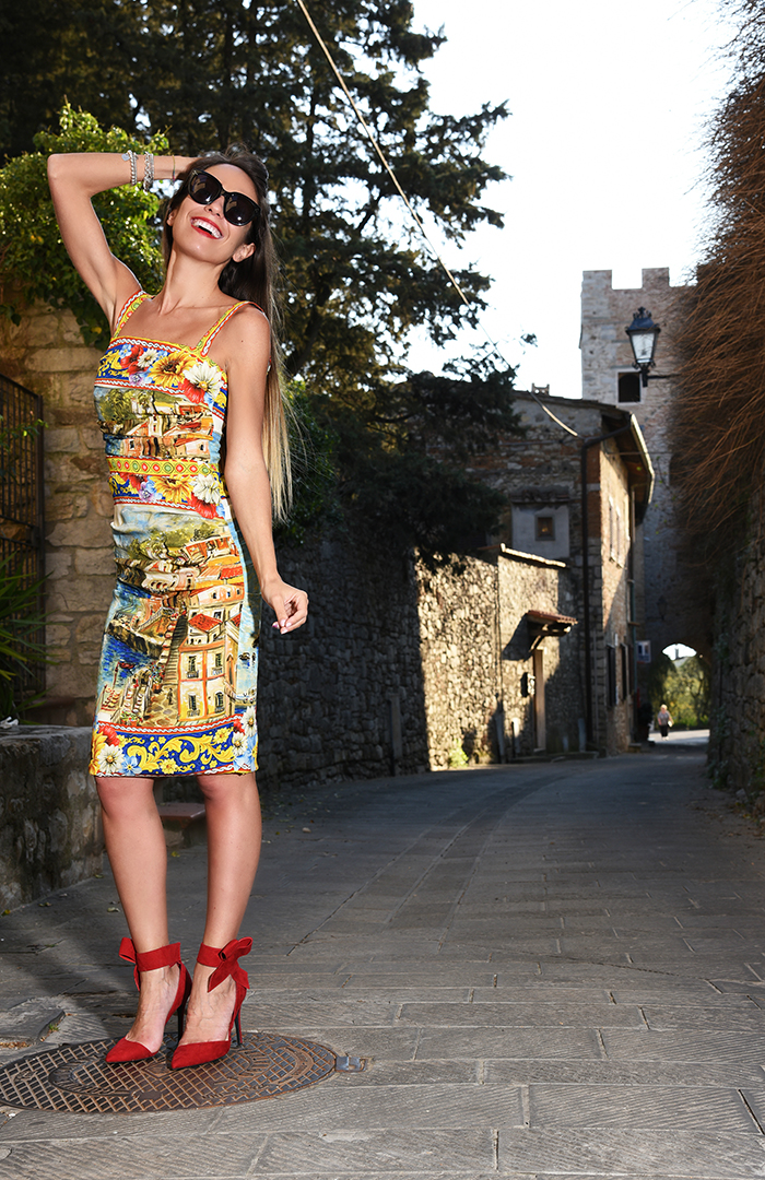 outfit dolce e gabbana