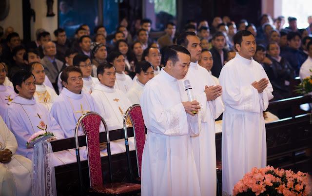 Lễ truyền chức Phó tế và Linh mục tại Giáo phận Lạng Sơn Cao Bằng 27.12.2017 - Ảnh minh hoạ 5