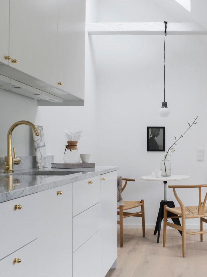 PUNTXET 30 metros cuadrados de elegancia y sencillez #deco #decoracion #decoration #hogar #home #loft #estilonordico #nordicstyle #estiloescandinavo #scandinavianstyle #kitchen #cocina