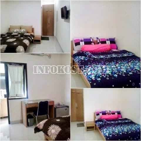 contoh kamar kost mewah