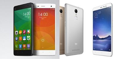 Điện thoại Xiaomi mi4 với Xiaomi redmi note 3 chính hãng