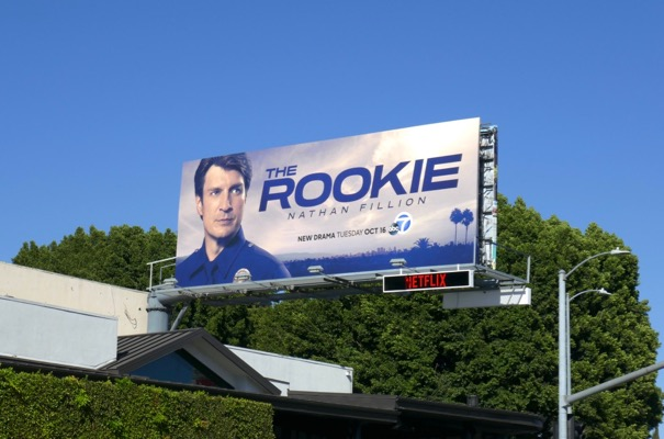Rookie series launch billboard
