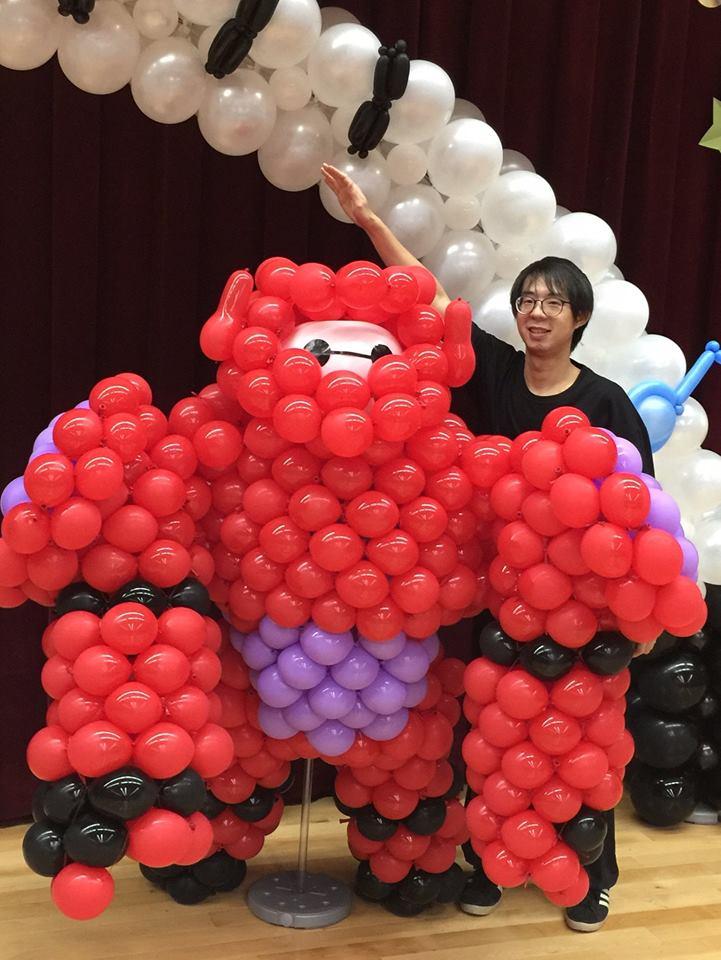 氣球杯麵,氣球baymax