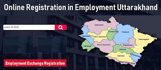 Online Registration in employment Uttarakhand -  Employment Exchange Registration