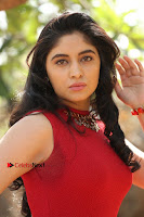 Telugu Actress Zahida Sam Latest Pos in Red Gown at RF Films New Movie Opening  0085.JPG