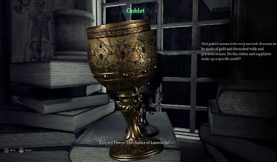 Golden Goblet, Nameless Bookstore, Call of Cthulhu
