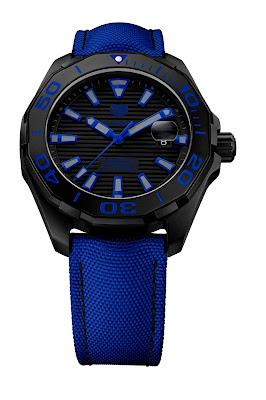 9dadb5a05eb Chegado ao mercado - relógio TAG Heuer Aquaracer Black Titanium 300 M