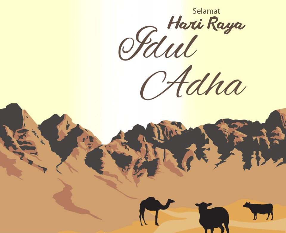 Kartu Ucapan Idul Adha 2021/1442 H dengan Desain Unik