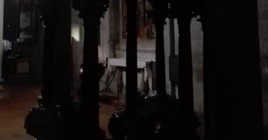 Giovanni Pisano nascosto nel buio